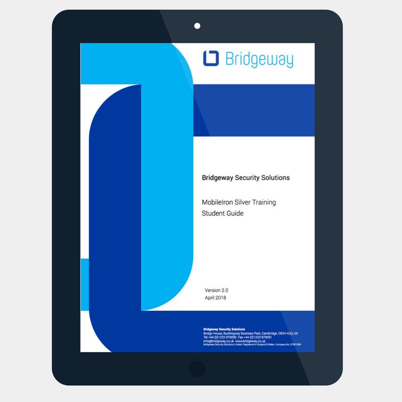 Bridgeway course content guide - tablet - Grey